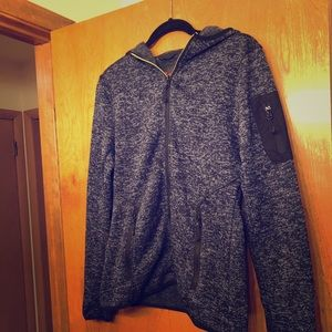 NWOT Stoic zip up sweater